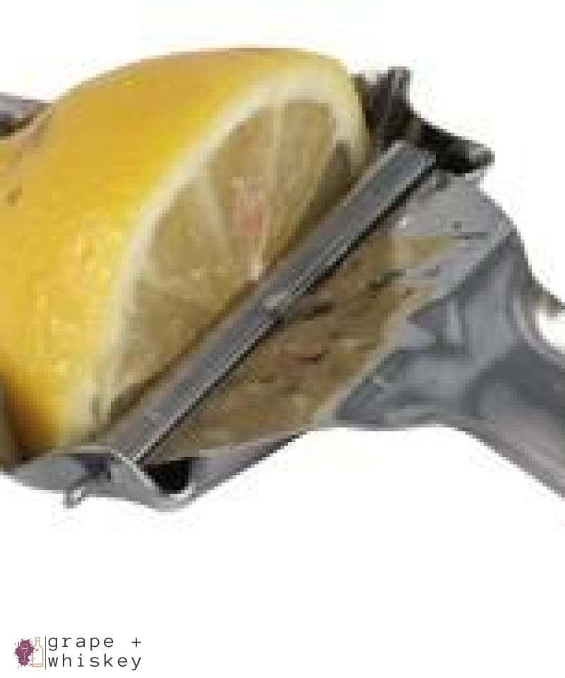 Lemon and Lime Wedge Squeezer -  - Grape and Whiskey