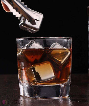 Quick Freezing Whiskey Cubes - Stainless Steel Version - Grape + Whiskey - grapeandwhiskey.com