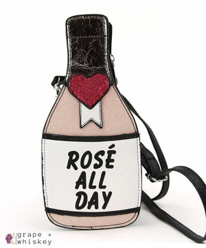 Rose' All Day Crossbody Bag - Grape + Whiskey - grapeandwhiskey.com