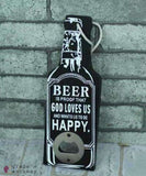 Rustic Beer Bottle Openers - 1 - Grape and Whiskey