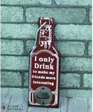 Rustic Beer Bottle Openers - 11 - Grape and Whiskey