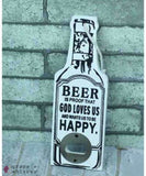 Rustic Beer Bottle Openers - 4 - Grape and Whiskey