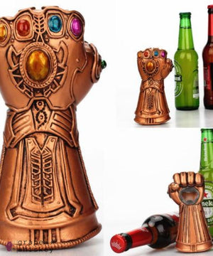 Thanos Gauntlet Beer Bottle Opener - Grape + Whiskey - grapeandwhiskey.com
