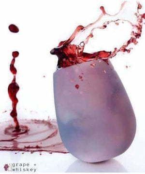 Unbreakable Silicone Wine Cups - Grape + Whiskey - grapeandwhiskey.com