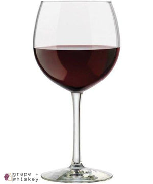 Vineyard Reserve Merlot Wine Glass Set of 8, Clear - Default - Grape and Whiskey