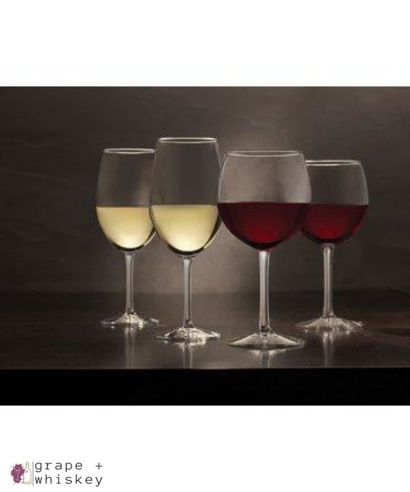 Vineyard Reserve Merlot Wine Glass Set of 8, Clear - Grape + Whiskey - grapeandwhiskey.com