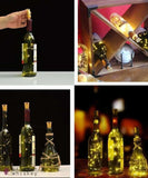 Waterproof Wine Bottle LED Lights (Pack of 6) -  - Grape and Whiskey