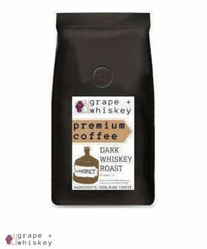 Whiskey Flavored Coffee from Brazil - Grape + Whiskey - grapeandwhiskey.com