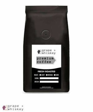 Whiskey Flavored Coffee from Brazil -  - Grape and Whiskey
