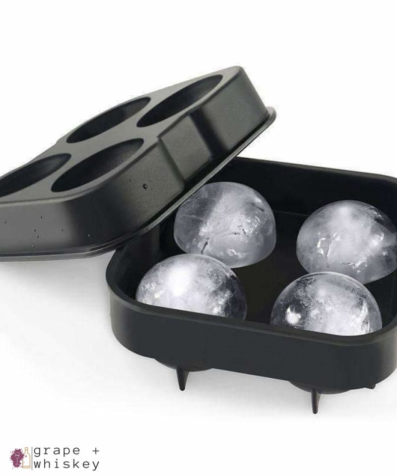 Whiskey Ice Ball Maker Tray -  - Grape and Whiskey