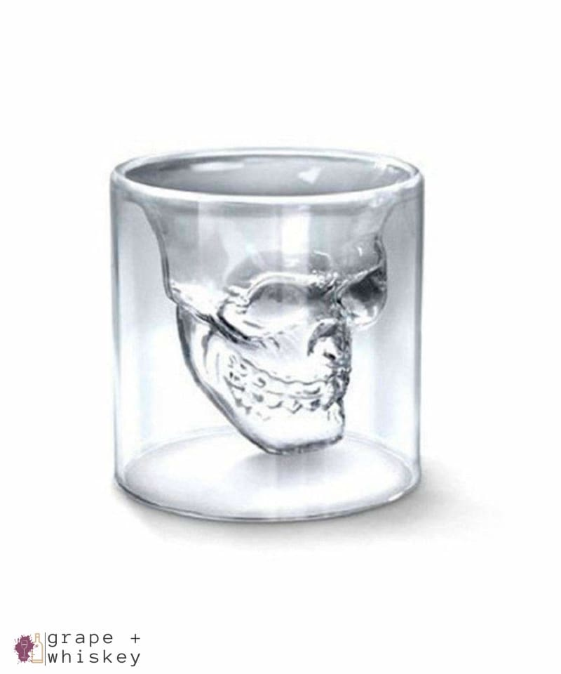 Whiskey Skull Glass - Default Title - Grape and Whiskey