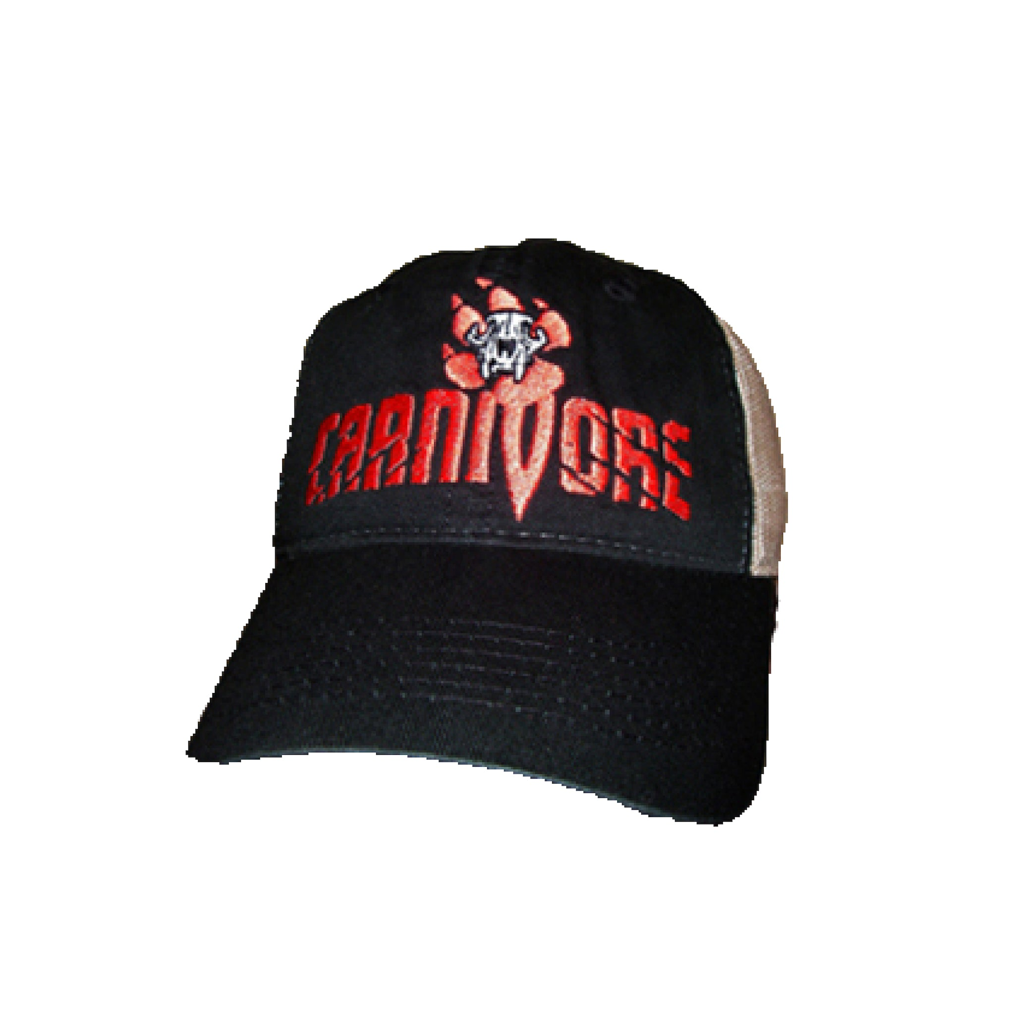 Carnivore Black and Tan Mesh Cap