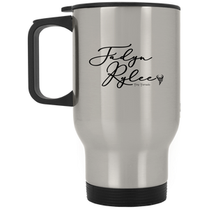 Tiny Tornado Silver Stainless Travel Mug