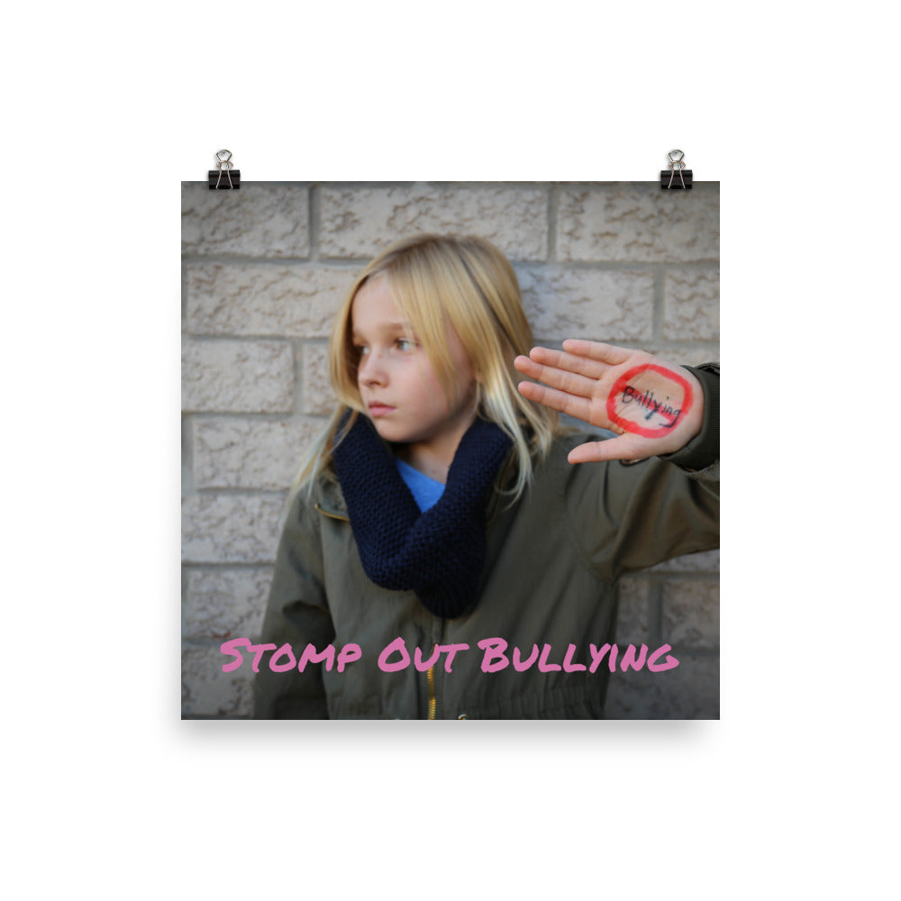 Stomp Out Bullying Poster