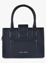 Load image into Gallery viewer, Phive Rivers Women's Leather HandBag (Navy_PR532)