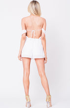 Load image into Gallery viewer, Off Shoulder Elastic Waist Jumpsuit