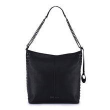 Load image into Gallery viewer, Phive Rivers Women's Leather Black Hobo Bag