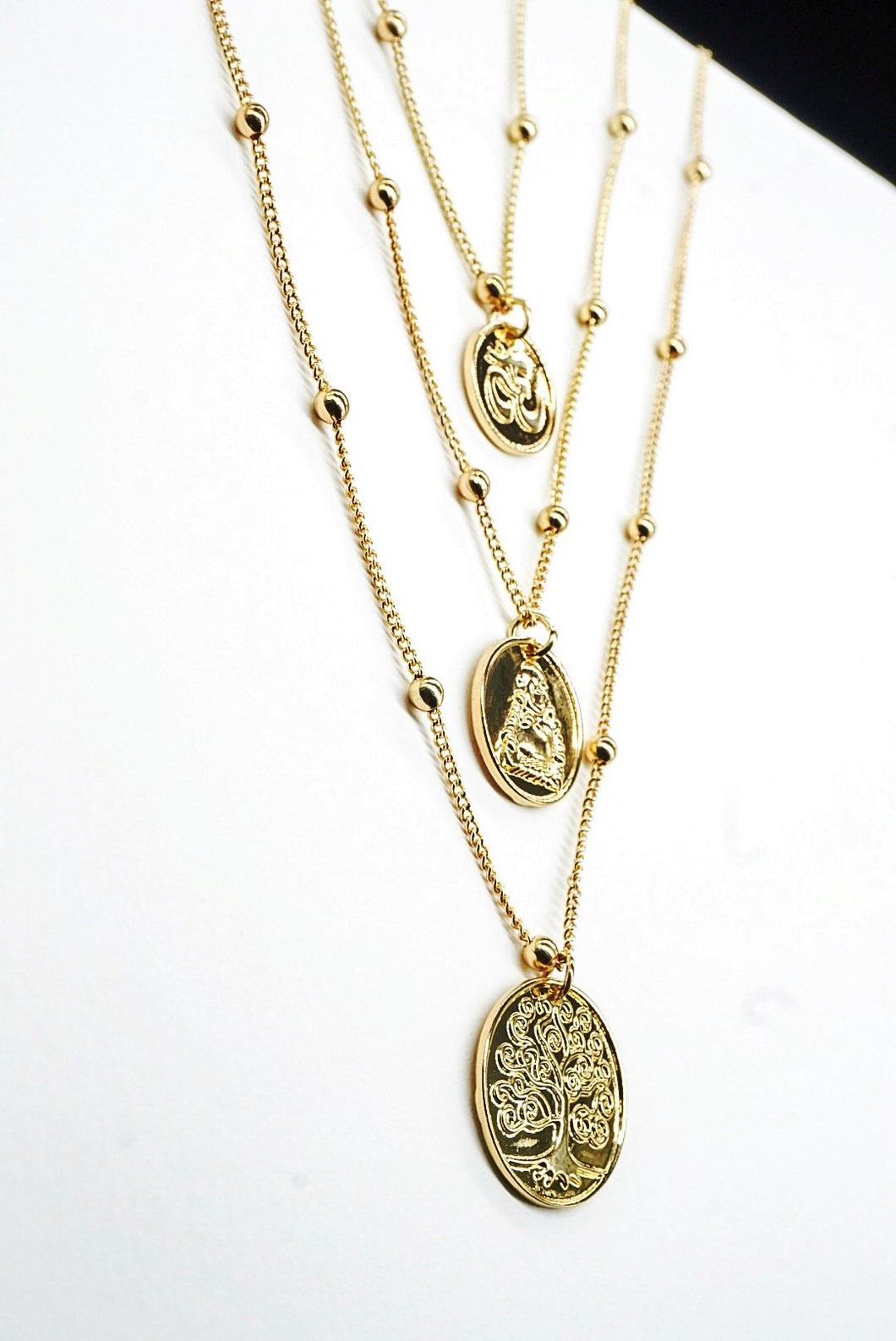 PEACE Coin Necklace
