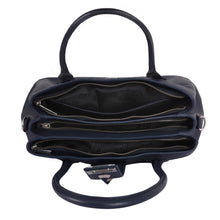 Load image into Gallery viewer, Phive Rivers Women's Leather Navy Handbag