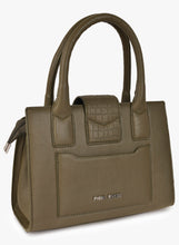 Load image into Gallery viewer, Phive Rivers Women's Leather HandBag (Green_PR536)