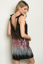 Load image into Gallery viewer, Multi Color With Sequins Dress