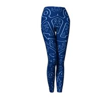 Load image into Gallery viewer, Anchor Dream Leggings - Navy