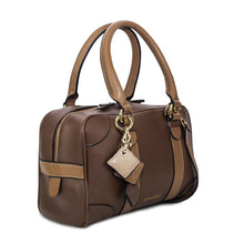 Load image into Gallery viewer, Carlotta Leather Handbag - Chocolate / Caramel