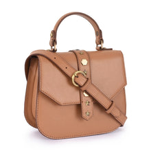 Load image into Gallery viewer, Phive Rivers Women's Leather Tan Crossbody Bag