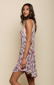 Summer Bloom Short Dress