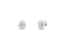 Load image into Gallery viewer, Designer's Choice Baroque Pearl Studs, 13-15mm