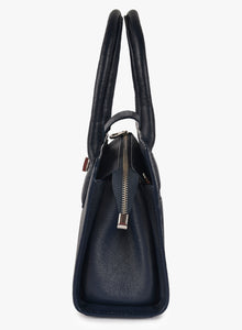 Phive Rivers Women's Leather HandBag (Navy_PR532)
