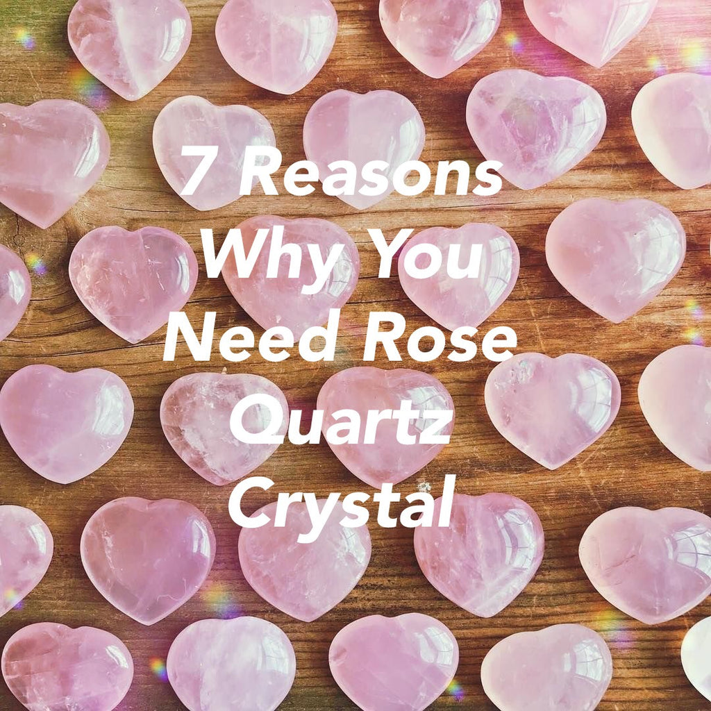 7 Reasons Why You Need Rose Quartz Crystal & How to Use It