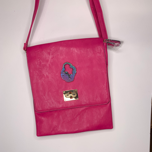 Cross body hot pink