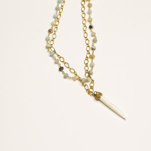 Sassy Spike Necklace