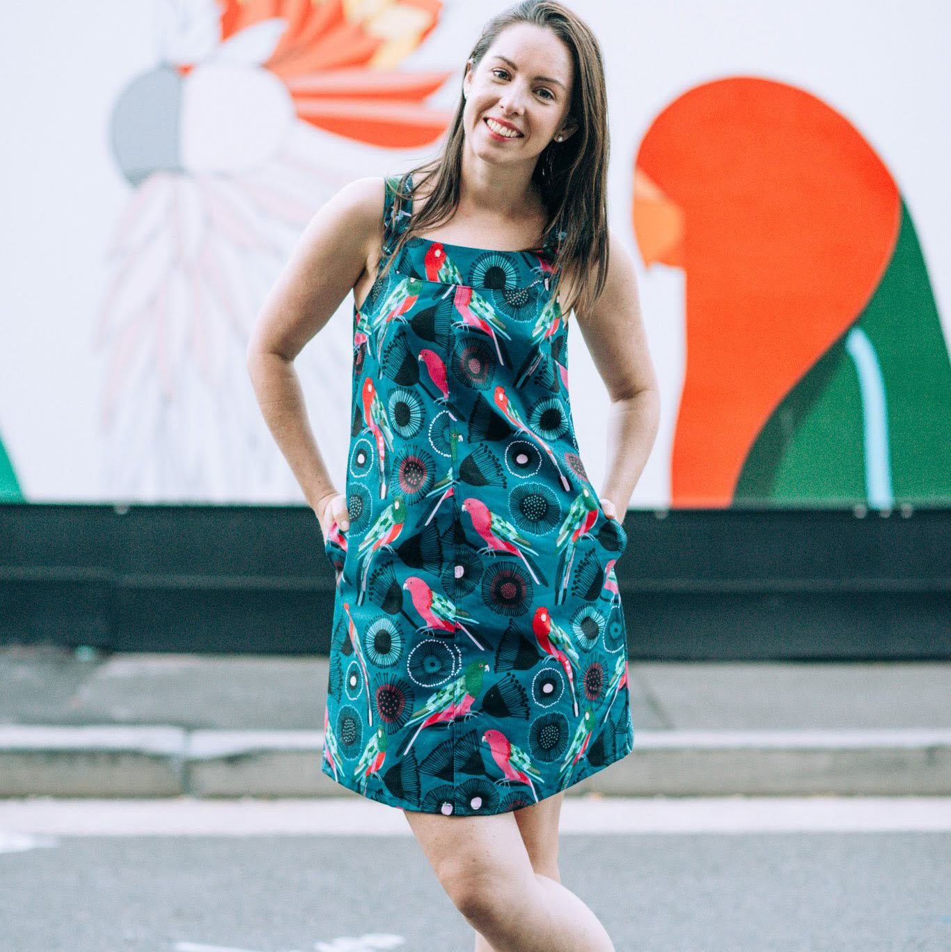 King Parrot Pinafore