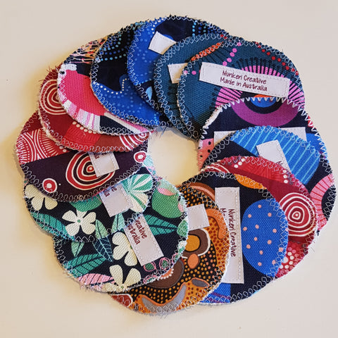 Reusable Makeup Rounds / Wipes