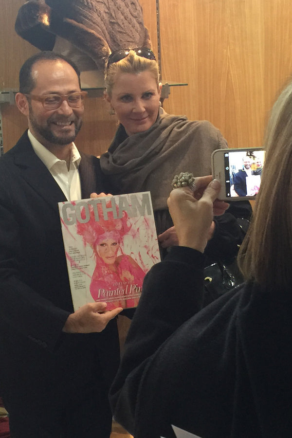 Emmy award-winning Sandra Lee Stuns in 100% Qiviuk Finito Shawl