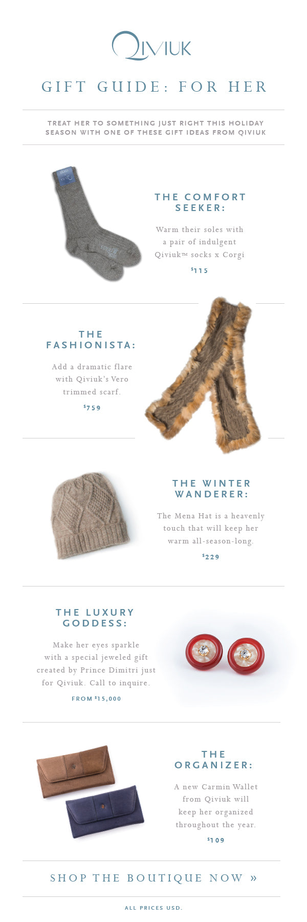 5 Great Gift Ideas for Her