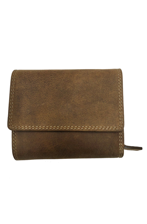 Bison Leather Woman Wallet 206 Hand Made by Adrian Klis
