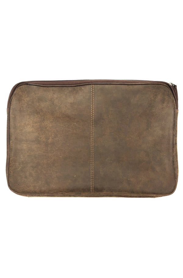 Bison Leather File folder 2403 Hand Made for Qiviuk Boutique