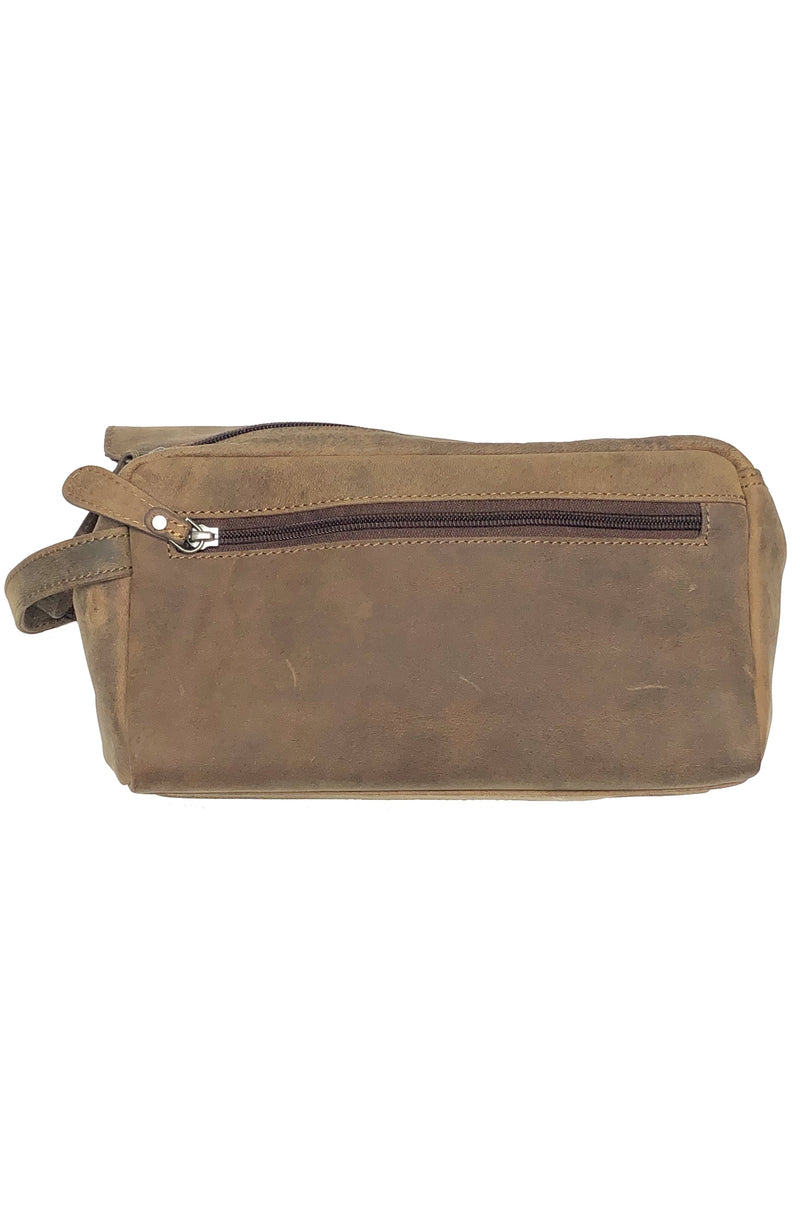 Buffalo leather travel toiletry case 2730 by Adrian Klis