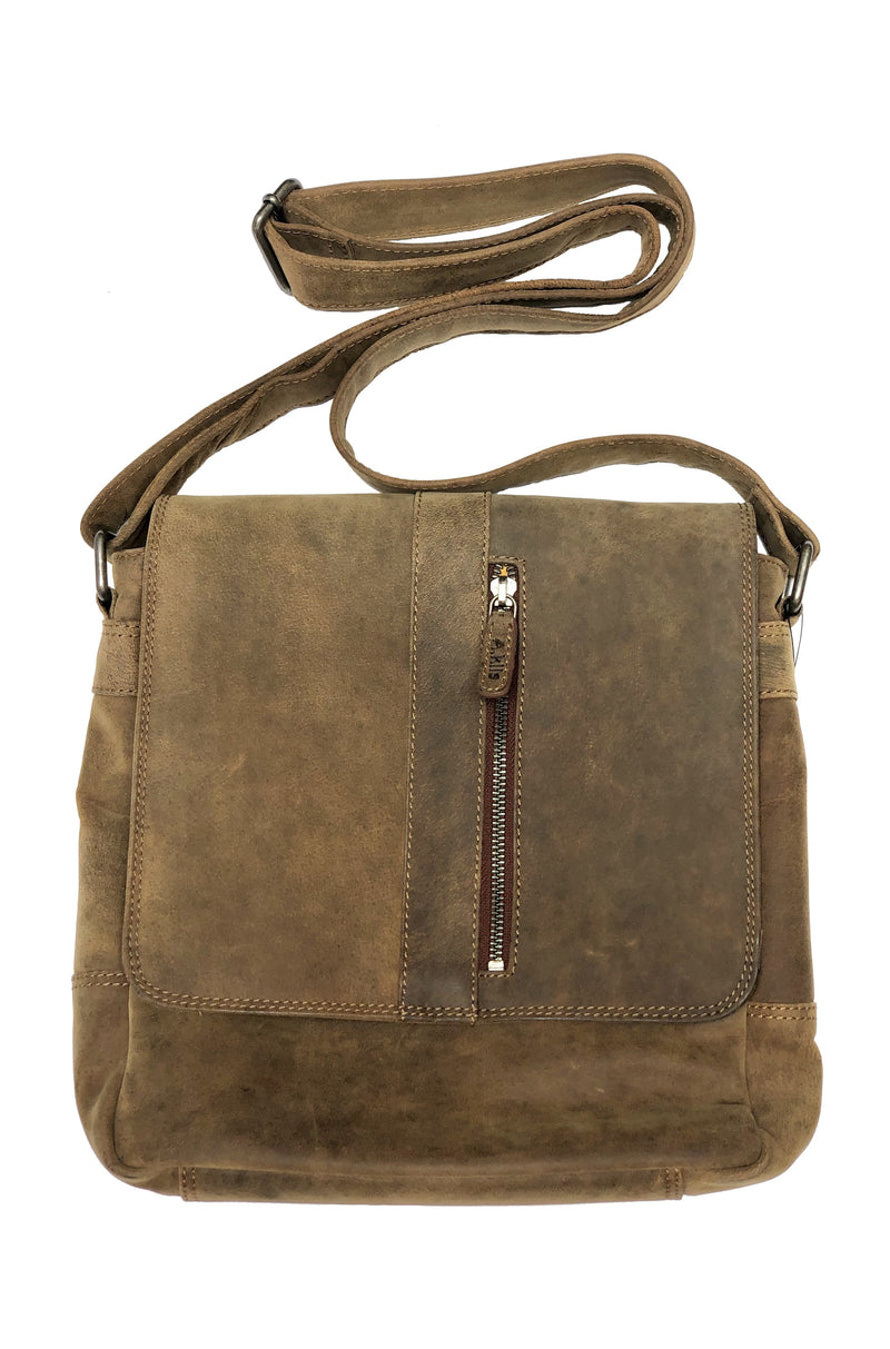 Buffalo leather man messenger bag 2750 by Adrian Klis