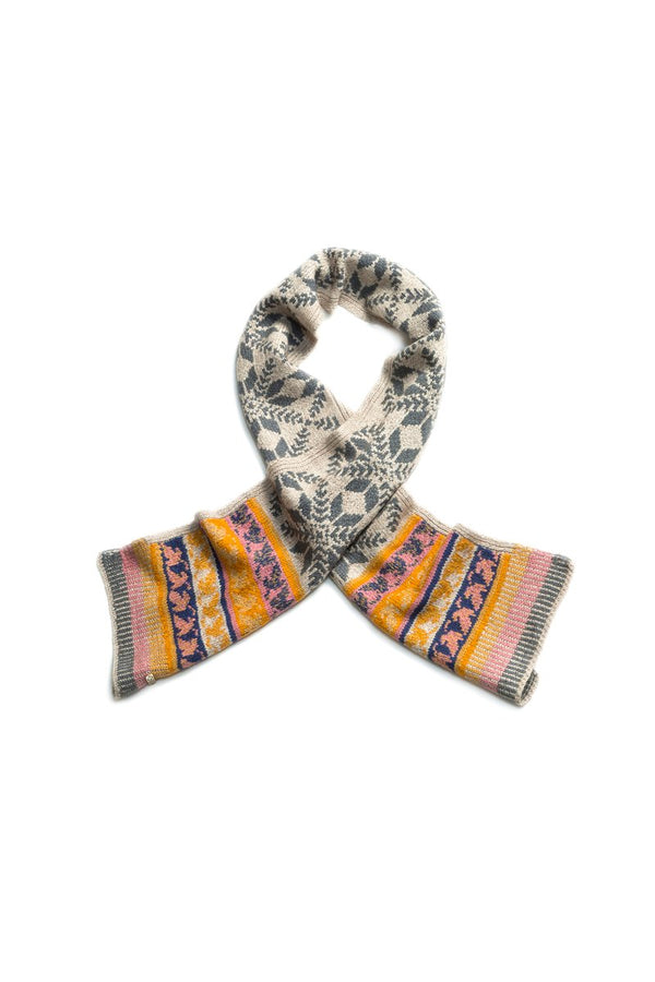 Merino, Qiviuk and Silk Gloria ladies scarf by Qiviuk Boutique