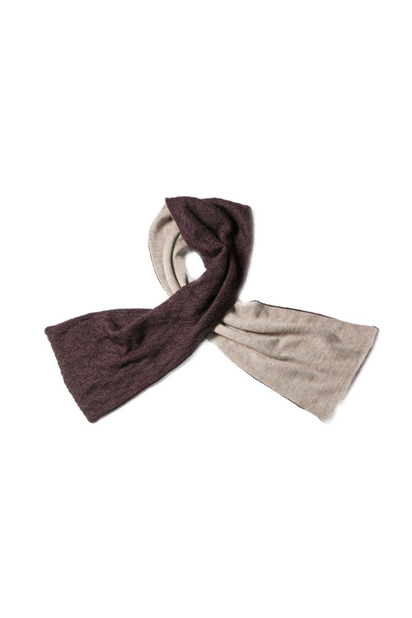 Qiviuk, Merino and Silk Adrian men's scarf by Qiviuk Boutique