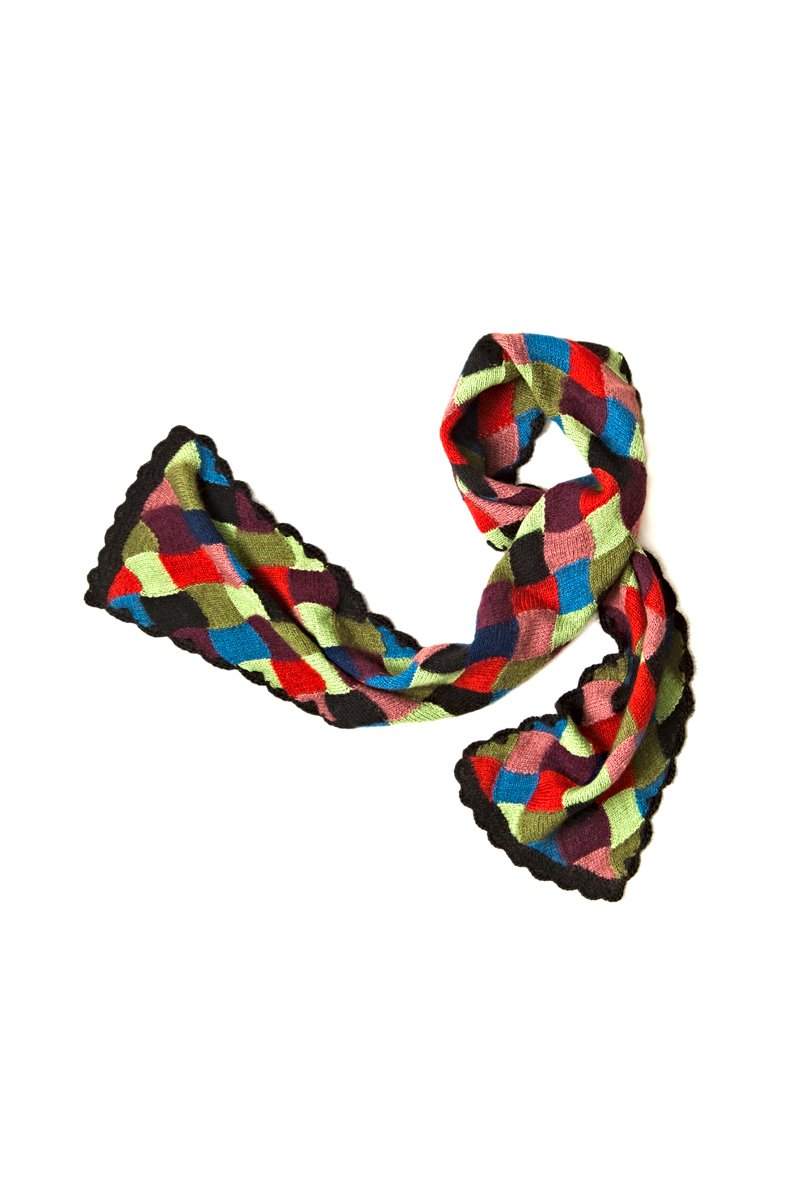 Qiviuk, Merino and Silk Mirella ladies scarf by Qiviuk Boutique