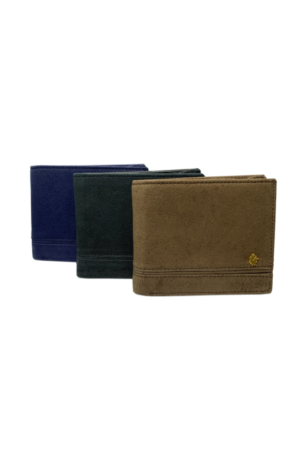 Muskox leather George wallet by Qiviuk Boutique