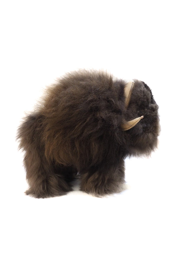 Muskox L doll made with Alpaca by Qiviuk Boutique