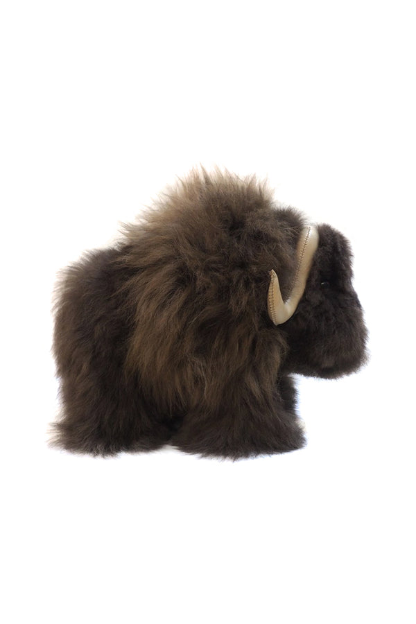 Muskox M doll made with Alpaca by Qiviuk Boutique