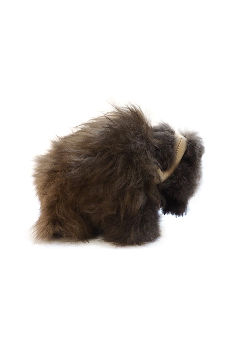 Muskox S doll made with Alpaca by Qiviuk Boutique