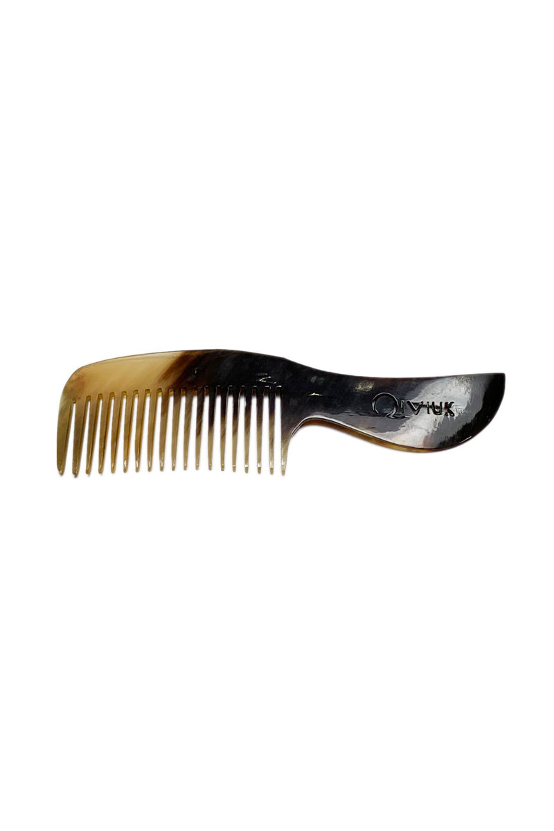 Bull horn comb N-120-3 by Qiviuk Boutique